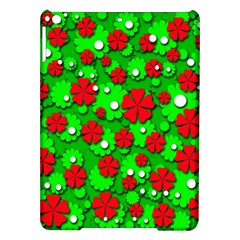 Xmas Flowers Ipad Air Hardshell Cases by Valentinaart