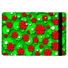 Xmas Flowers Ipad Air 2 Flip by Valentinaart