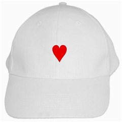 Cart Heart 03 Tre Cuori White Cap by AnjaniArt