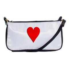 Cart Heart 03 Tre Cuori Shoulder Clutch Bags by AnjaniArt