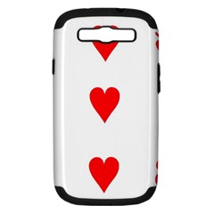 Cart Heart 03 Tre Cuori Samsung Galaxy S Iii Hardshell Case (pc+silicone) by AnjaniArt