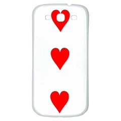 Cart Heart 03 Tre Cuori Samsung Galaxy S3 S Iii Classic Hardshell Back Case by AnjaniArt