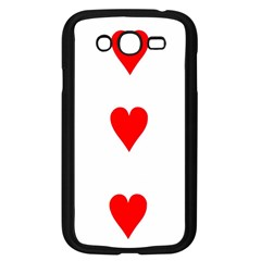 Cart Heart 03 Tre Cuori Samsung Galaxy Grand Duos I9082 Case (black) by AnjaniArt