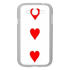 Cart Heart 03 Tre Cuori Samsung Galaxy Grand Duos I9082 Case (white)