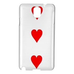 Cart Heart 03 Tre Cuori Samsung Galaxy Note 3 N9005 Hardshell Case by AnjaniArt
