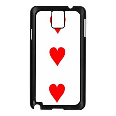 Cart Heart 03 Tre Cuori Samsung Galaxy Note 3 N9005 Case (black) by AnjaniArt