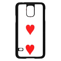 Cart Heart 03 Tre Cuori Samsung Galaxy S5 Case (black) by AnjaniArt
