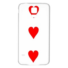 Cart Heart 03 Tre Cuori Samsung Galaxy S5 Back Case (white) by AnjaniArt
