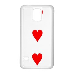 Cart Heart 03 Tre Cuori Samsung Galaxy S5 Case (white) by AnjaniArt
