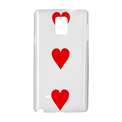 Cart Heart 03 Tre Cuori Samsung Galaxy Note 4 Hardshell Case by AnjaniArt