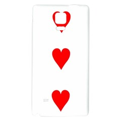 Cart Heart 03 Tre Cuori Galaxy Note 4 Back Case by AnjaniArt