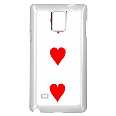 Cart Heart 03 Tre Cuori Samsung Galaxy Note 4 Case (white) by AnjaniArt