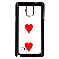 Cart Heart 03 Tre Cuori Samsung Galaxy Note 4 Case (black) by AnjaniArt