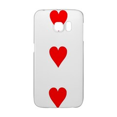 Cart Heart 03 Tre Cuori Galaxy S6 Edge by AnjaniArt
