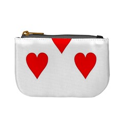 Cart Heart 07 Sette Cuori Mini Coin Purses by AnjaniArt