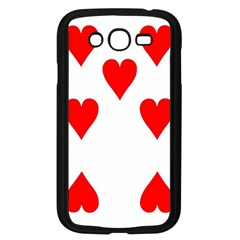 Cart Heart 07 Sette Cuori Samsung Galaxy Grand Duos I9082 Case (black) by AnjaniArt