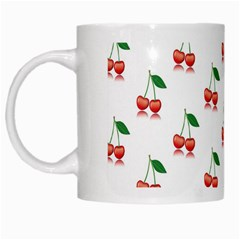 Cerry Fruite Red White Mugs by AnjaniArt