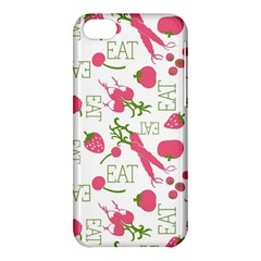 Eat Pattern Tomato Cerry Friute Apple Iphone 5c Hardshell Case