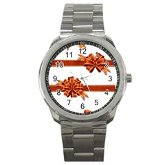 Gift Ribbons Sport Metal Watch