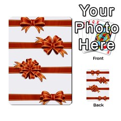 Gift Ribbons Multi Purpose Cards (rectangle)  by AnjaniArt