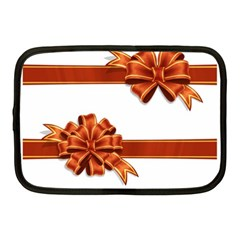 Gift Ribbons Netbook Case (medium)  by AnjaniArt