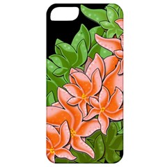 Decorative Flowers Apple Iphone 5 Classic Hardshell Case by Valentinaart