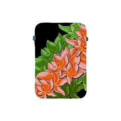 Decorative Flowers Apple Ipad Mini Protective Soft Cases by Valentinaart