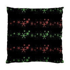 Decorative Xmas Snowflakes Standard Cushion Case (one Side) by Valentinaart