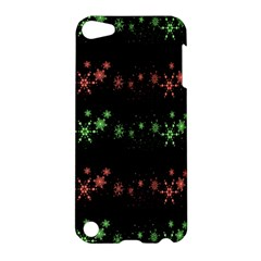 Decorative Xmas Snowflakes Apple Ipod Touch 5 Hardshell Case by Valentinaart