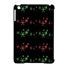 Decorative Xmas Snowflakes Apple Ipad Mini Hardshell Case (compatible With Smart Cover) by Valentinaart
