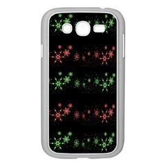 Decorative Xmas Snowflakes Samsung Galaxy Grand Duos I9082 Case (white) by Valentinaart