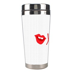 Hello Lip Red Sexy Stainless Steel Travel Tumblers