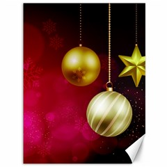 Lamp Star Merry Christmas Canvas 36  X 48