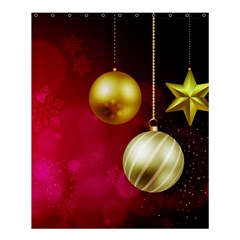 Lamp Star Merry Christmas Shower Curtain 60  X 72  (medium)