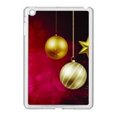 Lamp Star Merry Christmas Apple Ipad Mini Case (white)