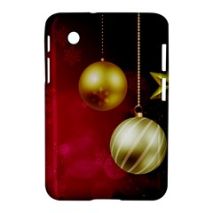 Lamp Star Merry Christmas Samsung Galaxy Tab 2 (7 ) P3100 Hardshell Case  by AnjaniArt