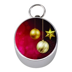 Lamp Star Merry Christmas Mini Silver Compasses