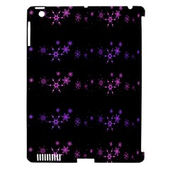 Purple Elegant Xmas Apple Ipad 3/4 Hardshell Case (compatible With Smart Cover) by Valentinaart