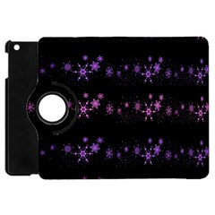 Purple Elegant Xmas Apple Ipad Mini Flip 360 Case by Valentinaart