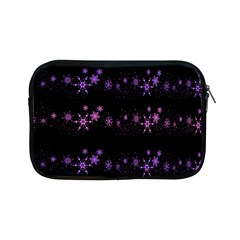Purple Elegant Xmas Apple Ipad Mini Zipper Cases by Valentinaart