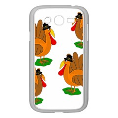 Thanksgiving Turkeys Samsung Galaxy Grand Duos I9082 Case (white) by Valentinaart