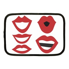 Lip Sexy Red Netbook Case (medium)