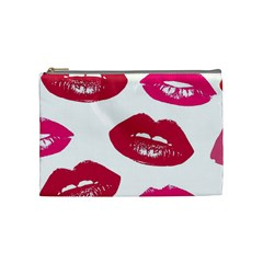 Living Nude Lipstick Featuredimage Cosmetic Bag (medium)  by AnjaniArt