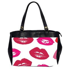 Living Nude Lipstick Featuredimage Office Handbags (2 Sides)  by AnjaniArt