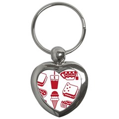 Mad Ice Ernies Tea Bred Key Chains (heart)