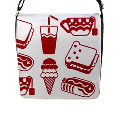 Mad Ice Ernies Tea Bred Flap Messenger Bag (l)  by AnjaniArt