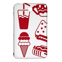 Mad Ice Ernies Tea Bred Samsung Galaxy Tab 3 (7 ) P3200 Hardshell Case  by AnjaniArt