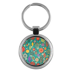 Ornaments Homemade Christmas Ornament Crafts Key Chains (round)  by AnjaniArt