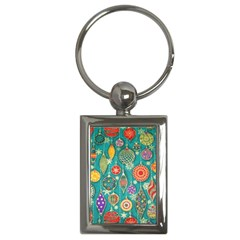 Ornaments Homemade Christmas Ornament Crafts Key Chains (rectangle)  by AnjaniArt