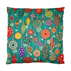 Ornaments Homemade Christmas Ornament Crafts Standard Cushion Case (one Side) by AnjaniArt